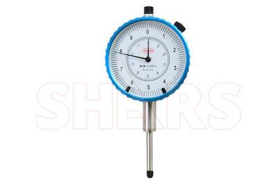 Shars 1 High Precision Dial Indicator .0001 Agd 2 Graduation Lug Back New