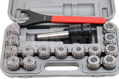 Out Of Stock 90 Days Shars 4mt Er 40 Spring Collet Chuck Set .0005 New