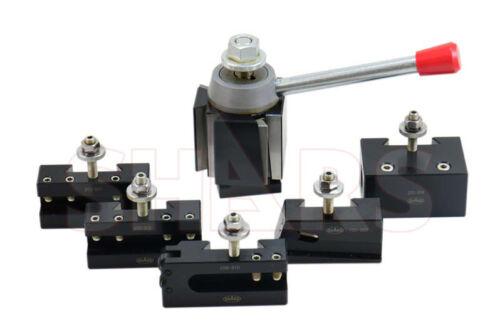 "Shars 13-18"" CNC CXA Wedge Quick Change Tool Post Set 250-333 + Certificate R}"