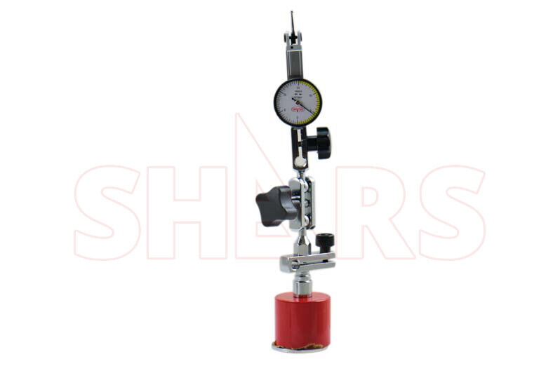".0005/"" Dial Test Indicator New Shars Mini Universal Magnetic Indicator Holder"