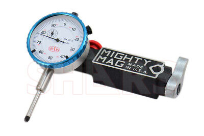 Mighty Mag 400-3 Universal Magnetic Base 0 - 1 Dial Indicator Usa P