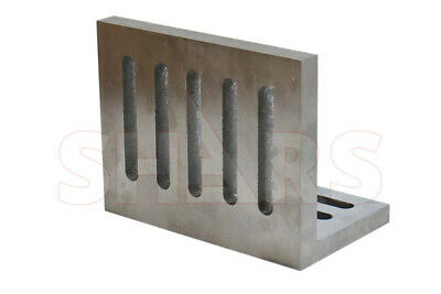 Ground .0005 Open End Slotted Angle Plate 12 X 9 X 8 High Tensile Cast Iron R