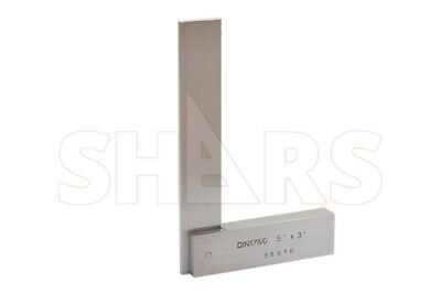 Shars 5 X 3 Hardened Precision Steel Squares Straight Edge Square New