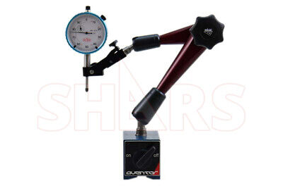 Aventor Heavy Duty Magnetic Base Warticulating Arm 1 Dial Indicator New P