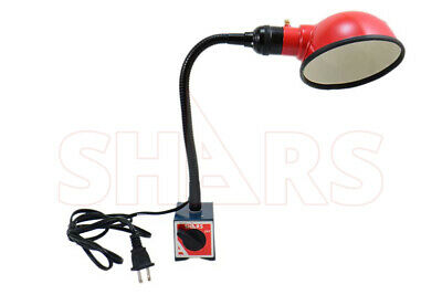 Shars Work Lamp On Magnetic Base Flexible Arm 10.50 New A