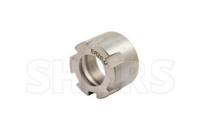 Shars Er20 M Mini Type Collet Clamping Nut For Cnc Cat40 Tool Holder Er 20 New