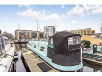 "37"" Narrow Boat with transferable Mooring in Limehouse London"