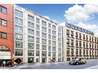 City, EC4, 2 Double bed flat in portered building located just off Fleet Street