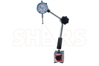 Shars 135lbs Hydraulic Magnetic Base With 1 Dial Indicator New