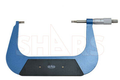Shars Precision 5-6 Inch Blade Outside Micrometer .0001 New
