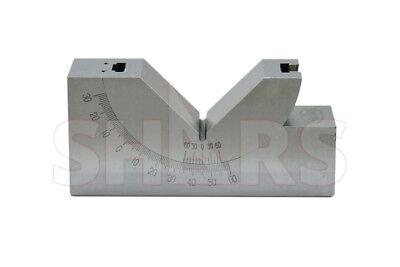 4 L X 1-316 W Precision Adjustable 0 - 60 Angle Block