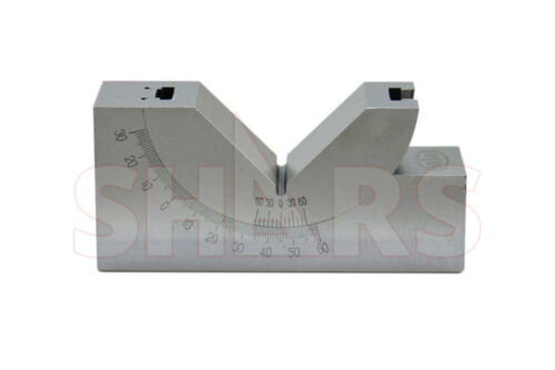 4 L X 1-3/16 W PRECISION ADJUSTABLE 0 - 60° ANGLE BLOCK