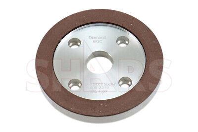 Shars 6 X 34 Diamond Plain Cup Wheel Grinding D6a2c 150 Grit New