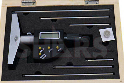 Shars Tools  0-6152.4mm Electronic Depth Micrometer