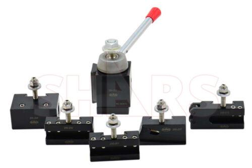 Shars BXA Piston Tool Post Set CNC High Precision Quick Change Lathe Holder 200