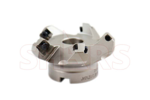 """CNC 2-1/2"""" 45° Indexable Face Mill SEHT 43 Insert 5FL W/Certificate save $137 P["""