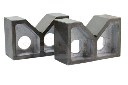 "SHARS 7"" x 3"" x 4-1/2"" High Quality Cast Iron V-Block NEW"