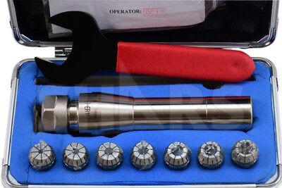 R8 Er16 Collet Chuck Tool Holder 9 Pcs Set .0002