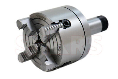 Shars 4 4 Jaw Independent Lathe Chuck W Certification 5c Shank Arbor New
