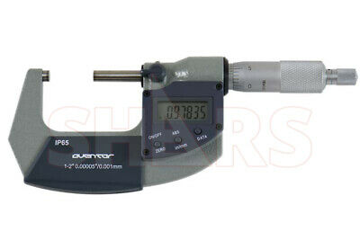 Shars 1-2 0.000050.001mm Digital Electronic Outside Micrometer Ip65 New