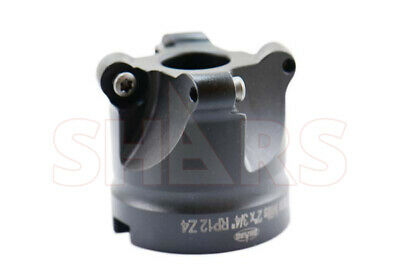 Cnc 2 Round Indexable Face Mill Rpmt Insert 4fl Wcertificate 129.05 Off S