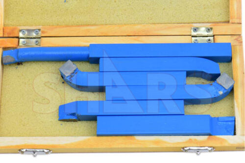 "SHARS TOOLS 1/2"" Carbide Tipped Tool Bit Set NEW! P{"