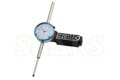 Mighty Mag 400-1 Universal Magnetic Base 0 - 2 Dial Indicator Usa