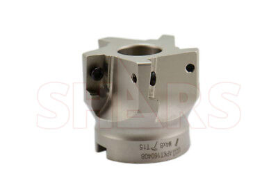 Shars 2 90 Indexable Face Mill Cutter Use Apkt 33 New