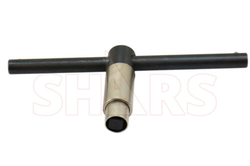 """SHARS 7/16"""" Self-Ejecting Key for 8"""" & 10"""" Lathe Chuck NEW"""