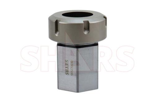 "ER40 HEX Collet Block Holder .001"" parallelism CNC Lathe Engraving Machine ^["