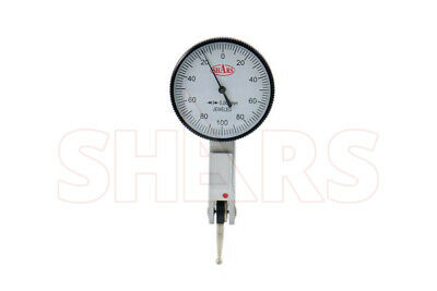 Shars 0.2mm .002mm Graduation Horizontal Dial Test Indicator