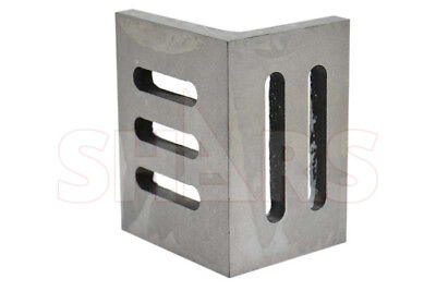 """Shars Ground .0005/"""" Webbed Slotted Angle Plate 8x6x5/"""" High Tensile Cast Iron New"""