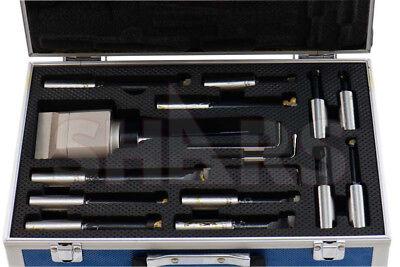 3 Boring Head R8 Shank 14pcs C6 Carbide Tipped 34 Boring Bar Set R