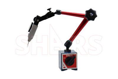 176 Lbs Magnetic Base W Speed Set Fine Adjustment .030 Dial Test Indicator P