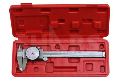 Shars 6 150mm Inch Metric Dual Reading Dial Caliper Mm Inspection Report New A