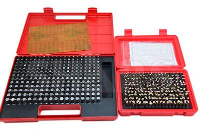 Shars 440 Pcs 0.061-0.500 M1m2 Class Zz Steel Pin Gage Set Minus New