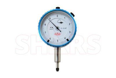 .05 Precision Dial Indicator .0001 Agd 2 Shockproof Lug Back 0-100 26.31 Off