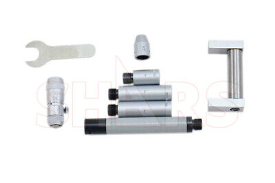 Out Of Stock 90 Days Shars 2 - 12 Tubular Inside Micrometer Set Tool Die Insp