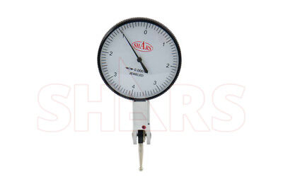 Shars .008 Large 0-4-0 Dial Test Indicator Graduation .0001 Case New