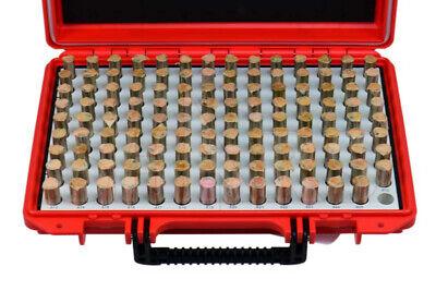 Shar 125 Pcs M3 .501-.625 Class Zz Steel Pin Plug Gage Gauge Set Minus- New R