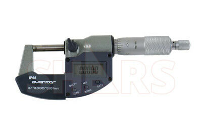 Shars 0-1 0.000050.001mm Digital Electronic Outside Micrometer Ip65 New P