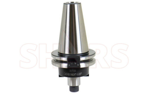 """Shars  3/4x1-3/8"""" CAT40 SHELL FACE MILL HOLDER ADPATER CNC .0002"""" NEW"""