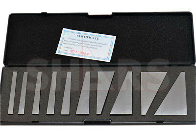 Out Of Stock 90 Days Shars 10 Pcs Machinist Ground Angle Blocks Set 1 - 30 Degre