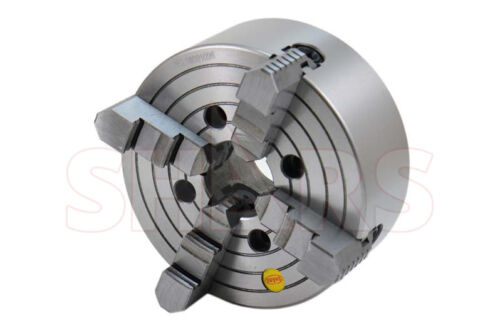 """SHARS 8"""" 4 Jaw Independent Lathe Chuck with TIR Certification NEW R["""