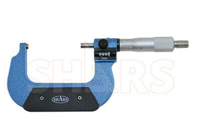 Shars 2 - 3 Digital Digit Outside Micrometer .0001 Ratchet Thimble New P