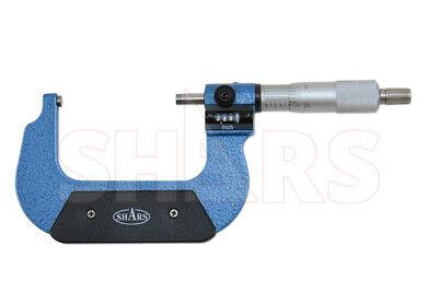 Shars 2 - 3 Digital Digit Outside Micrometer .0001 Ratchet Thimble New