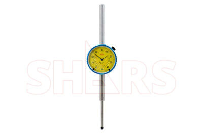 Shars 2 Precision Dial Indicator .001 Agd 2 Graduation Lug Back Yellow New