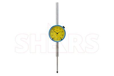 Shars 2 Precision Dial Indicator .001 Agd 2 Graduation Lug Back Yellow New