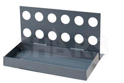 12 R8 Collets Set Rack Stand Milling Vertical Storage