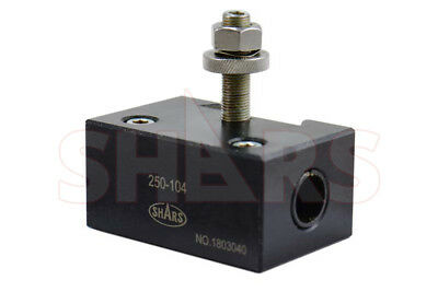 Shars 250-104 6-12 Axa Quick Change Post 4 Heavy Duty Boring Bar Holder New P